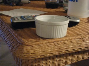 Ramekin for size