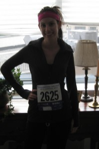 Me before 5th Ave Mile