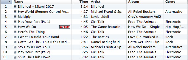Dori's 4 Mile Race Playlist