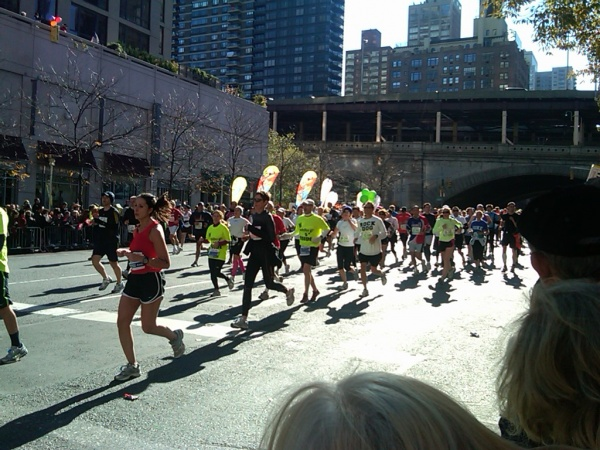 ING NYC Marathon View from 61 and 1 Manhattan