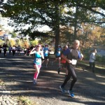 Dori running Richmond Half Marathon