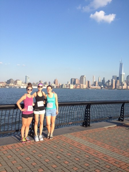 Party with a Purpose 5K - hoboken waterfront