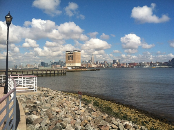Jersey City Hudson River waterfront