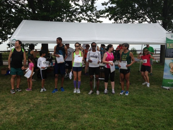 Age group winners