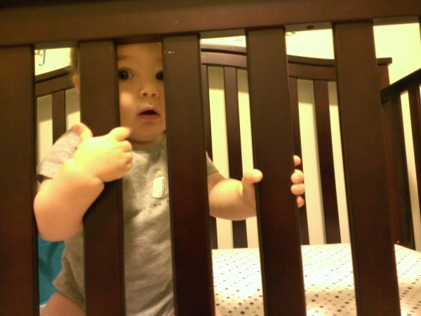 SOMEONE BAIL THIS BABY OUT OF JAIL