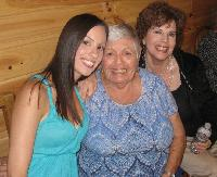 Me, my grandma and my Aunt Dale